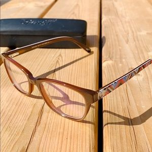 Adrienne Vittadini Studio Brown Frames w stripes